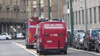 getlinkyoutube.com-APS Volvo + Carro Soccorso Vigili del Fuoco Milano in emergenza