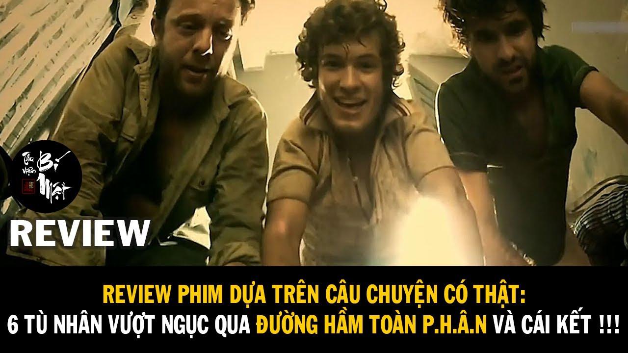 Review Phim Có Thật: 6 tù nhân vượt ngục thông qua đường hầm toàn p.h.â.n và cái kết !!!