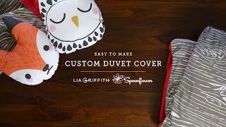 getlinkyoutube.com-How To Make A Duvet Cover