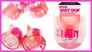 NEW Baby Skin Blushes |Maybelline Baby Skin Instant Cheek Flush Review | Is it worth trying ?