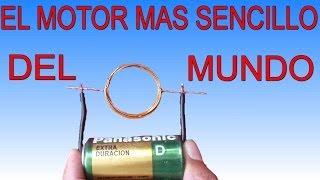 getlinkyoutube.com-El motor mas sencillo del mundo (Muy fácil de hacer)