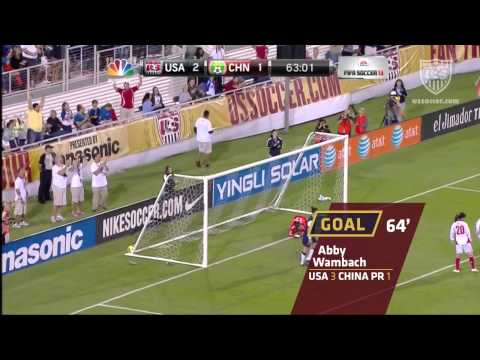 WNT vs. China PR: Highlights - Dec. 15, 2012