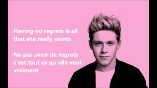getlinkyoutube.com-One Direction - Night Changes (Lyrics + Traduction Française)