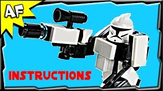 getlinkyoutube.com-Star Wars Clone Trooper HARDSUIT ARMOR Instructions from Custom R/C Turbo Tank