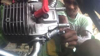 getlinkyoutube.com-supra X125-200cc Lebah  jalanan