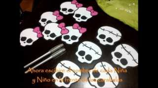 getlinkyoutube.com-Monster High Invitaciones de cumpleaños