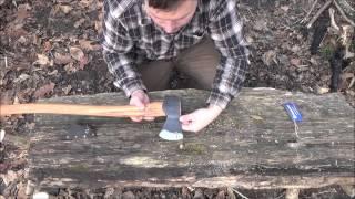 getlinkyoutube.com-Husqvarna Forest Axe - The Best Axe for under $75?