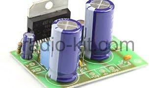 getlinkyoutube.com-Сборка конструктора на микросхеме TDA7294 / Assembly design on a chip TDA7294