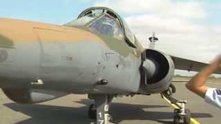 getlinkyoutube.com-1 Squadron Mirage F1 AZ SAAF Angola Bush War