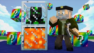 getlinkyoutube.com-Minecraft: EMPEZAMOS FUERTE!! c/ sTaXx | RAINBOW Lucky Blocks Epic Race