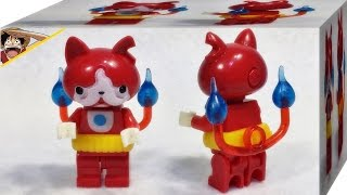 getlinkyoutube.com-요괴워치 지바냥 고양이 레고 중국산 짝퉁 미니피규어 리뷰 Lego knockoff Jibanyan cat minifigures