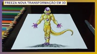 getlinkyoutube.com-Desenhando Freeza com Nova Transformação - Dragon Ball Z – O Renascimento de Freeza