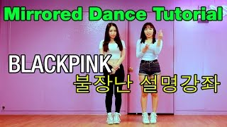 Tutorial Mirrored 블랙핑크 불장난 거울모드 설명강좌 BLACKPINK-PLAYING WITH FIRE- WAVEYA