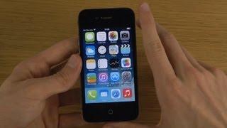 getlinkyoutube.com-iPhone 4 New iOS 7 Final Public First Look & Setup