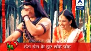 getlinkyoutube.com-Behind the scene giggles on the sets of Mahadev