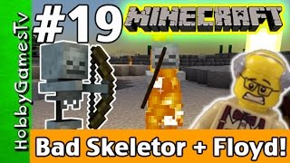 getlinkyoutube.com-Minecraft Floyd #19 Bad Skeletor! Xbox 360 Gameplay Hobbykids + Lego Floyd by HobbyGamesTV