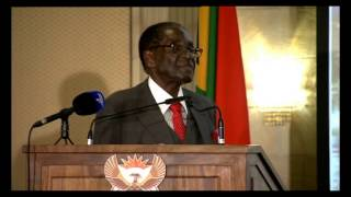 getlinkyoutube.com-SA-Zimbabwe Business Forum -  Mugabe's speech