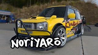 getlinkyoutube.com-Drift a Suzuki? SR20-powered all-custom Suzuki Jimny drift car by Kinokuni