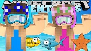 getlinkyoutube.com-Minecraft-Little Carly Adventures-SCUBA DIVING SCHOOL w/Little Kelly.