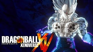 getlinkyoutube.com-Curse Mark Vegeta vs. Super Saiyan Blue Goku, Lord Beerus & More! [Dragon Ball Xenoverse PC Mod]