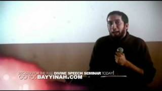 getlinkyoutube.com-Divine Speech Prologue - Part 2 - Nouman Ali Khan