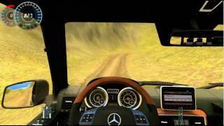 getlinkyoutube.com-City Car Driving 1.2.5 Mercedes-Benz G65 AMG