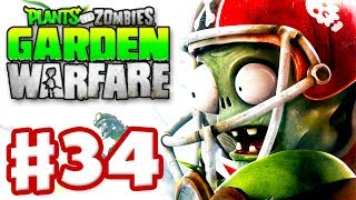 getlinkyoutube.com-Plants vs. Zombies: Garden Warfare - Gameplay Walkthrough Part 34 - Goalie Star! (Xbox One)