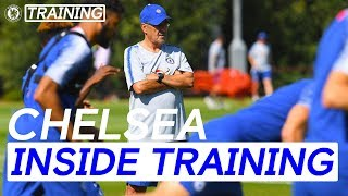 Sarri's First Week At Chelsea & More | Inside Training width=