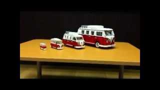 getlinkyoutube.com-lego 10220 【4Type】 Volkswagen T1 Camper Van