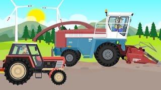 getlinkyoutube.com-☻ Tractor - Farm Work | Corn Machine Cutting | Traktory i Maszyna do cięcia kukurydzy ☻