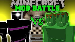 getlinkyoutube.com-PUNCHING ROBOT VS END OGRE & DINOSAURS - Minecraft Mob Battles - Mods