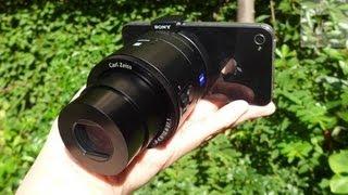 getlinkyoutube.com-عدسات سوني للجوال تحول الهاتف الى كاميرا قوية: QX100 و QX10