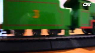getlinkyoutube.com-Henry the Green Engine - Bachmann model