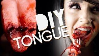 getlinkyoutube.com-How to make a fake tongue- Special FX Gelatin Tutorial