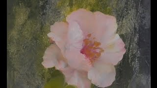 """The Beauty of Oil Painting, Mini Delights Youtube shows, Episode 1 """"Poppy"""""""