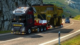 getlinkyoutube.com-ETS2 - Volvo FH Ohaha and Heavy Cargo