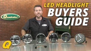 getlinkyoutube.com-LED Headlight Buyers Guide for Jeep Wrangler