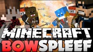getlinkyoutube.com-Minecraft TNT Bow Spleef - BOOOOM!! (w/ HuskyMudKipz, BajanCanadian, and Jerome)