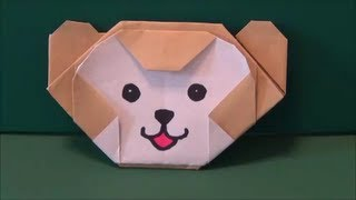 "getlinkyoutube.com-ディズニー「ダッフィ」折り紙Disney ""Duffy"" origami"
