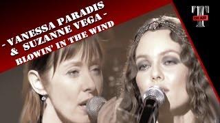 getlinkyoutube.com-Vanessa Paradis & Suzanne Vega - Blowin' In The Wind (Dec. 2007)
