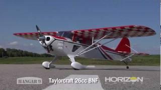 getlinkyoutube.com-Taylorcraft 26cc BNF by Hangar 9