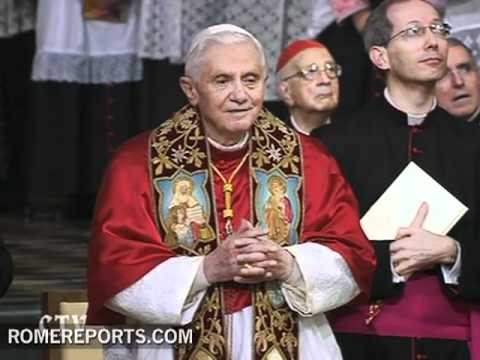 Hymn of Saint James with Benedict XVI