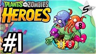 getlinkyoutube.com-Plants vs. Zombies Heroes Gameplay Part 1 - LEGENDARY CARDS, Electric Boogaloo!