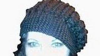 getlinkyoutube.com-1-Шапка-берет, вязанный спицами/ knitting hat