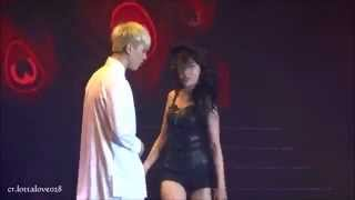 getlinkyoutube.com-[fancam]140830 JYP Nation Hong Kong Sunmi 24Hours (with GOT7 Yugyeom)