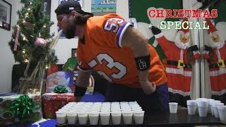 getlinkyoutube.com-Drinking 96 Shots of Eggnog Doesn't Go As Planned (L.A. BEAST CHRISTMAS SPECIAL)