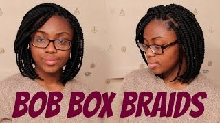 getlinkyoutube.com-HOW TO: Bob Box Braids (Tight Roots)
