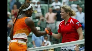getlinkyoutube.com-Serena Williams vs Kim Clijsters 2003 Miami Highlights