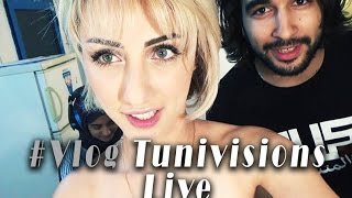 Vlog - Tunivisions Live / Behind the scene