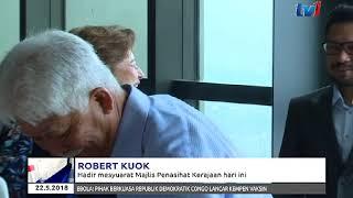 ROBERT KUOK – HADIR MESYUARAT MAJLIS PENASIHAT KERAJAAN HARI INI [22 MEI 2018]